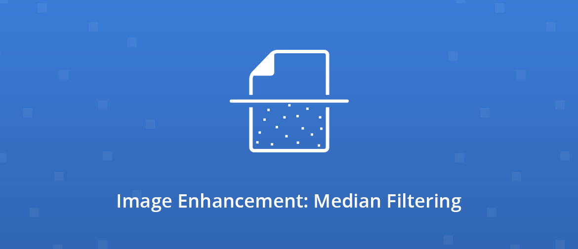Illustration Image Enhancement: Median Filtering