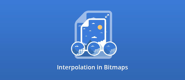 Illustration of Interpolation in Bitmaps