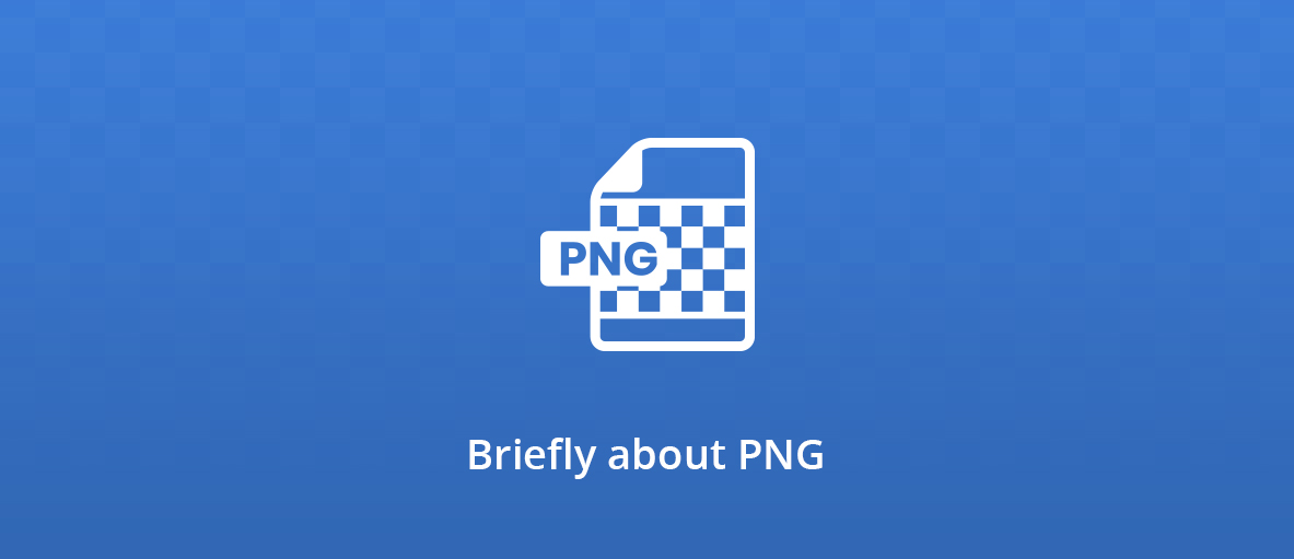 Illustration for the blog post about the story of the PNG format.