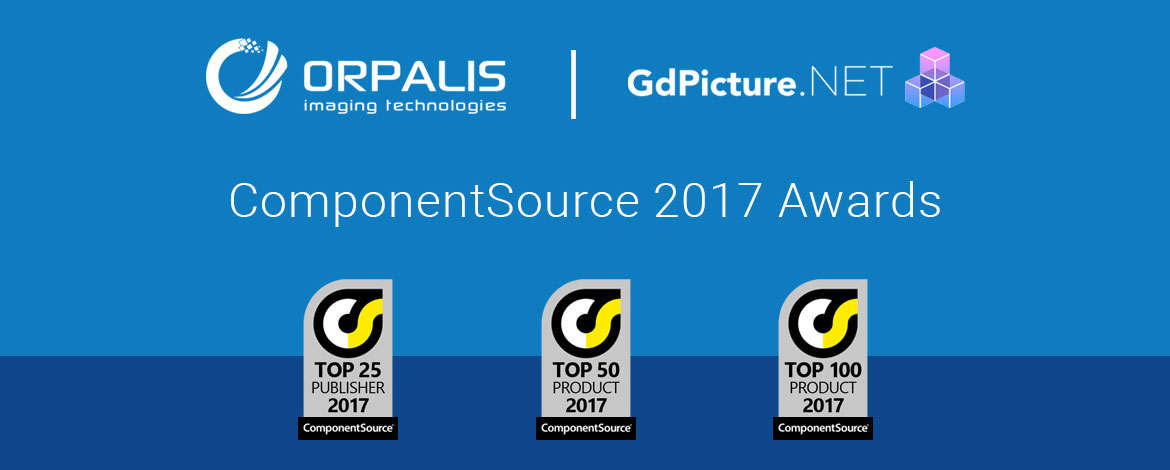 ORPALIS and GdPicture.NET Awards 2017