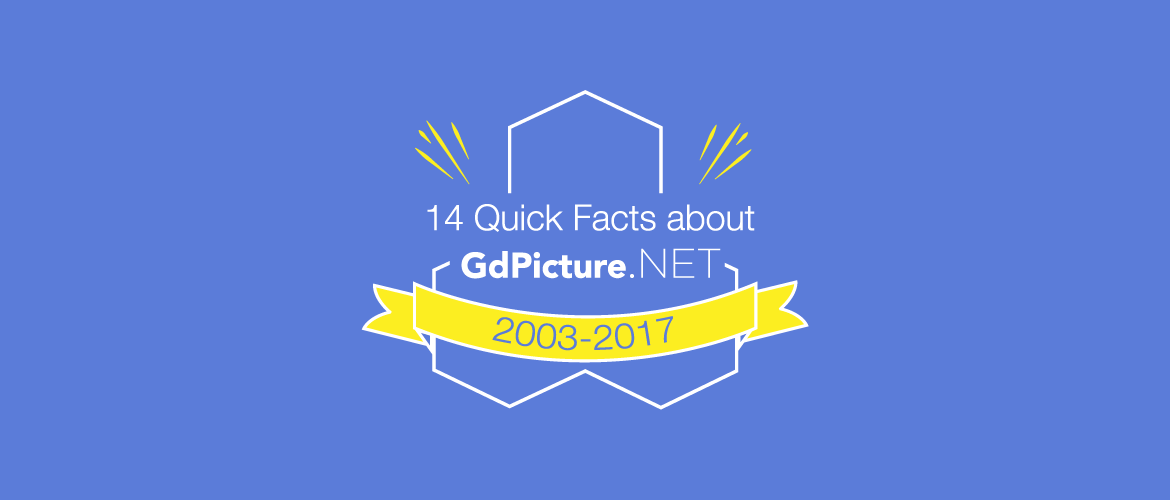14 Quick Facts about GdPicture.NET