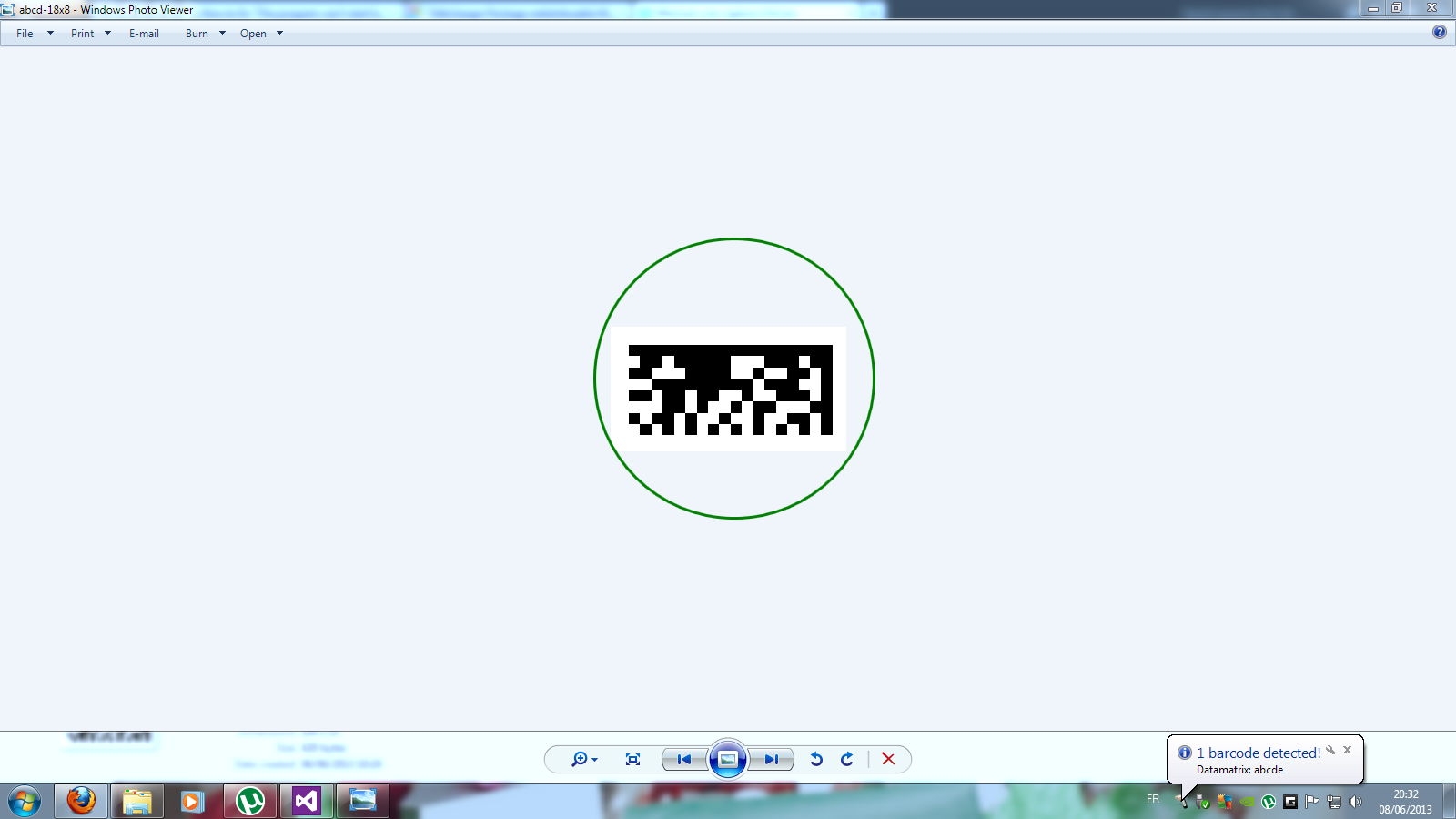 Virtual Barcode Reader After