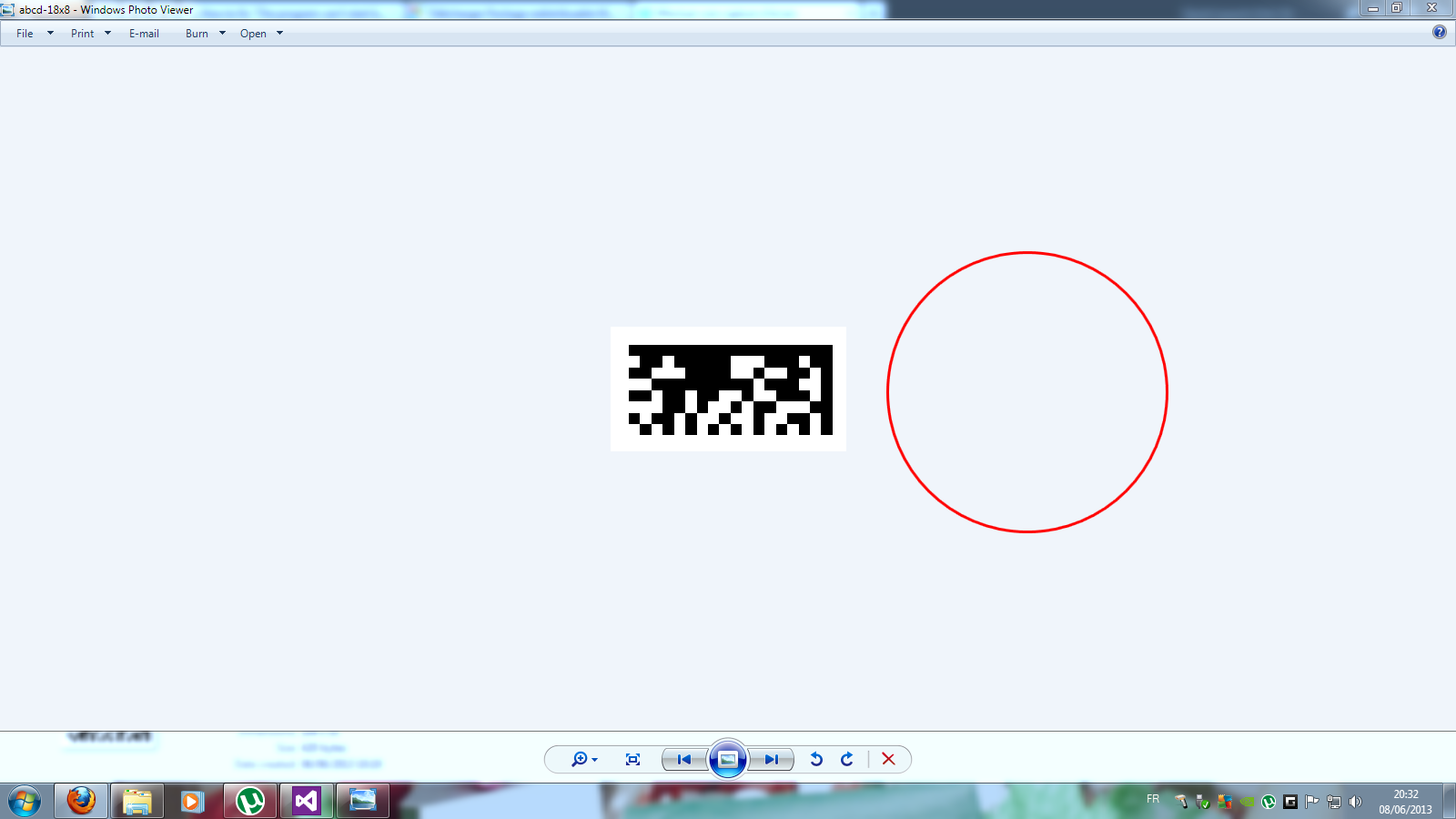Virtual Barcode Reader Before