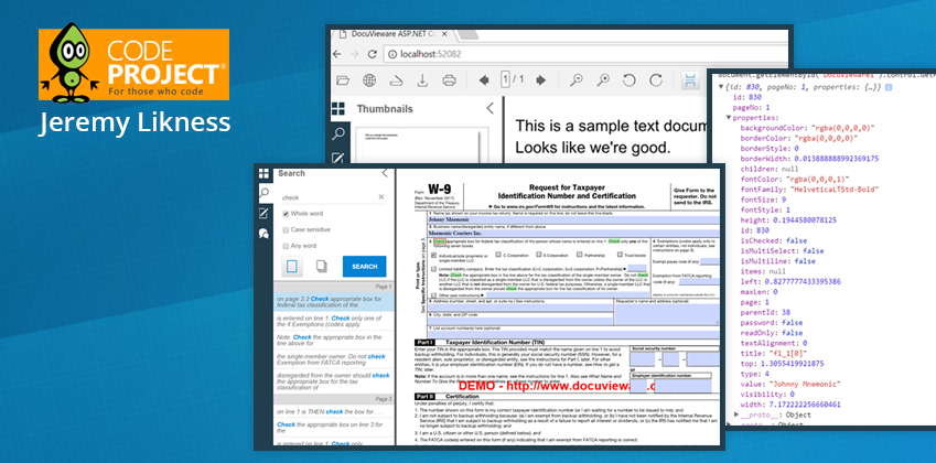 Document Manipulation in Minutes with DocuVieware