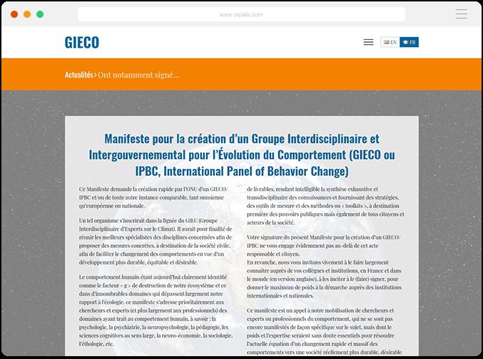 GIECO-IPBC