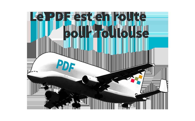 Le PDF est en route pour Toulouse