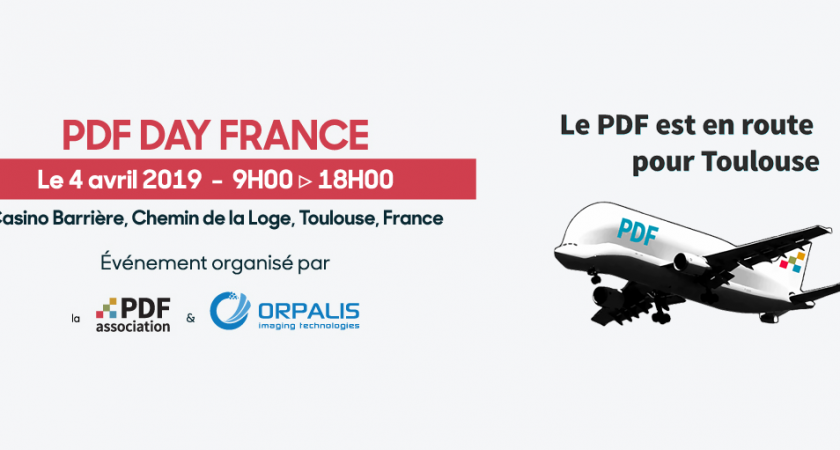 PDF Day France, Toulouse, 4 avril 2019