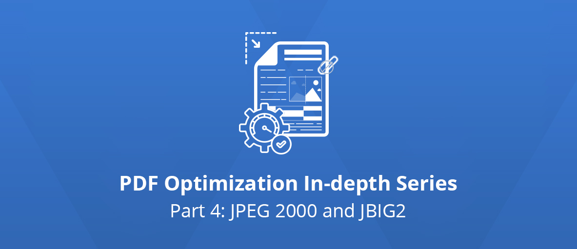 Illustration for the third article of the PDF Optimization In-depth Series - Part 4