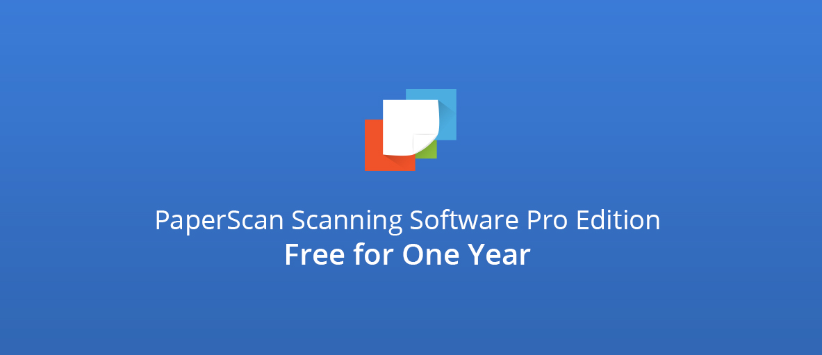 Image of PaperScan Scanning Software Pro Edition Free for One Year