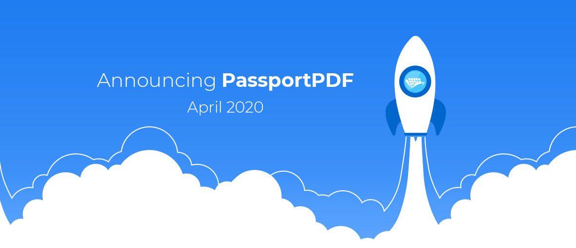 Illustration for the blog article about PassportPDF plans.