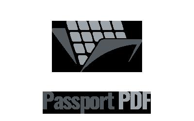 Illustration of PassportPDF Logo